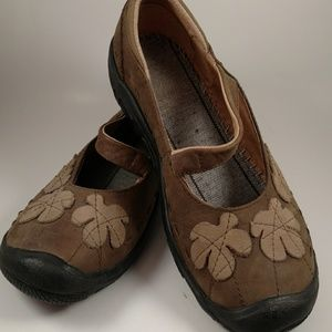 Leather Slip On Loafer Mary Jane's